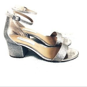 Betsey Johnson Miri Glitter Sandals